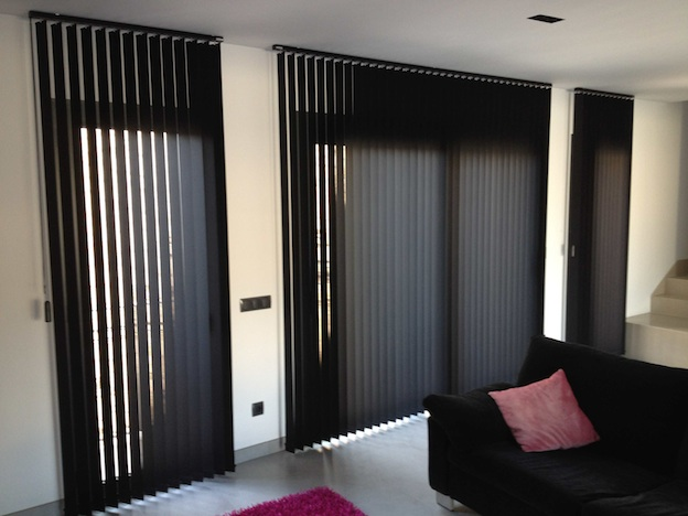Cortinas verticales palma verticales bandalux mallorca blinds - Cortinas verticales para oficinas ...