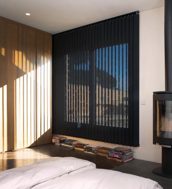 Bandalux Mallorca cortinas dormitorio oscuras