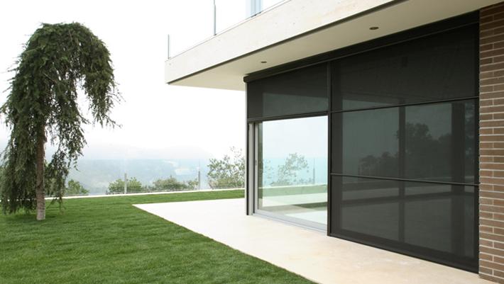Bandalux Mallorca enrollables exterior Polyscreen