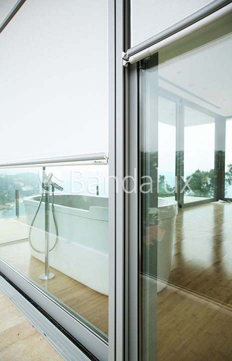 Cortina enrollable caj n enrollable bandalux caj n mallorca blinds - Cortina para exterior ...